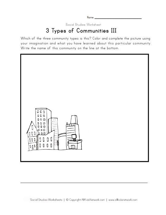 All Worksheets » Urban Rural Suburban Worksheets - Printable ...
