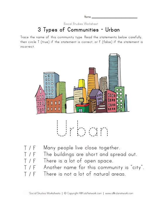 math worksheet : community worksheets : Community Worksheets For Kindergarten