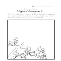 rural community coloring pages - photo#10