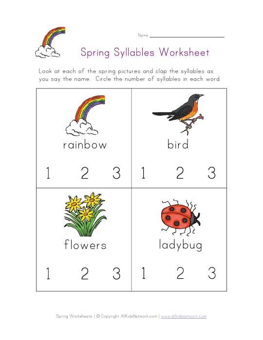 Syllables - Lessons - Tes Teach