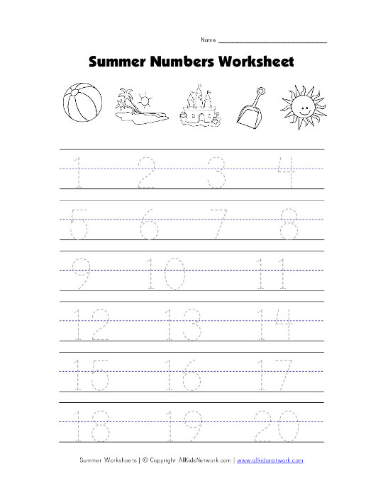 summer tracing worksheets pictures to pin on pinterest pinsdaddy. Black Bedroom Furniture Sets. Home Design Ideas