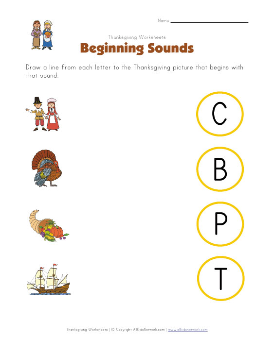 math worksheet : thanksgiving worksheets for kids : Thanksgiving Worksheets For Kindergarten