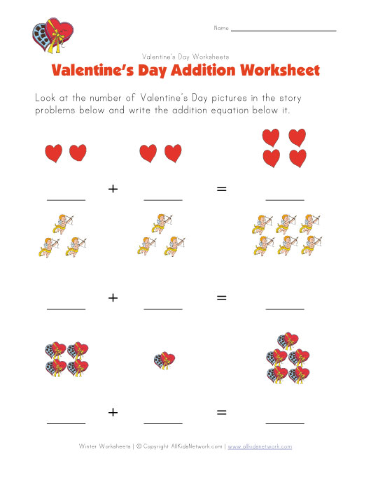 Spring Themed Addition Worksheets
