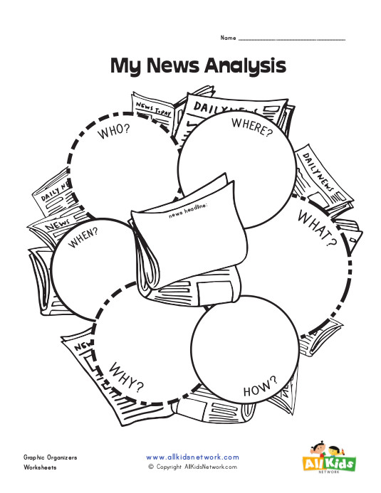 News Graphic Organizer : All Kids Network